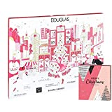 Douglas Beauty Adventskalender New York 2019 Beautykalender im Wert von 200€ mit Haar- & Armband Adventskalender