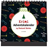 Krimi-Adventskalender: 24 Postcard-Stories