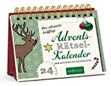 Der ultimativ knifflige Advents-Rätsel-Kalender: 24 x Ratespaß bis Weihnachten (Adventskalender)