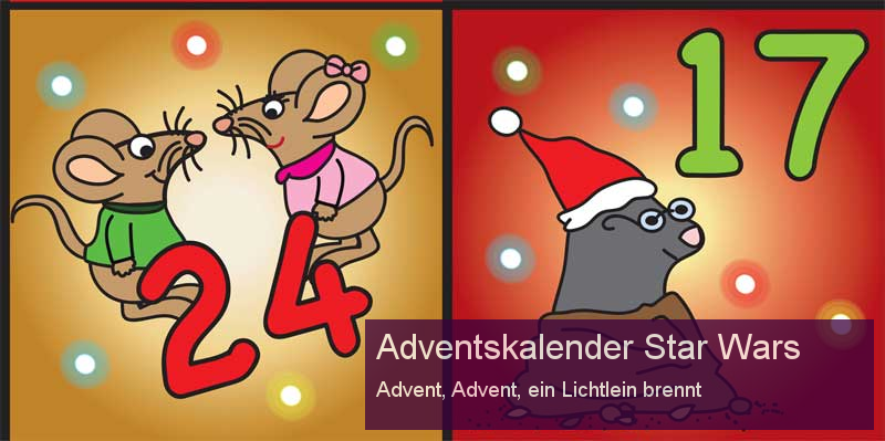 Adventskalender Star Wars | Die besten Adventskalender.